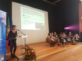 My presentation regarding the diversification of small-scale fisheries at the Socio-Economic Forum on Fisheries in the Azores