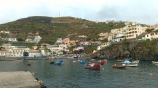 Harbour of Camâra de Lobos